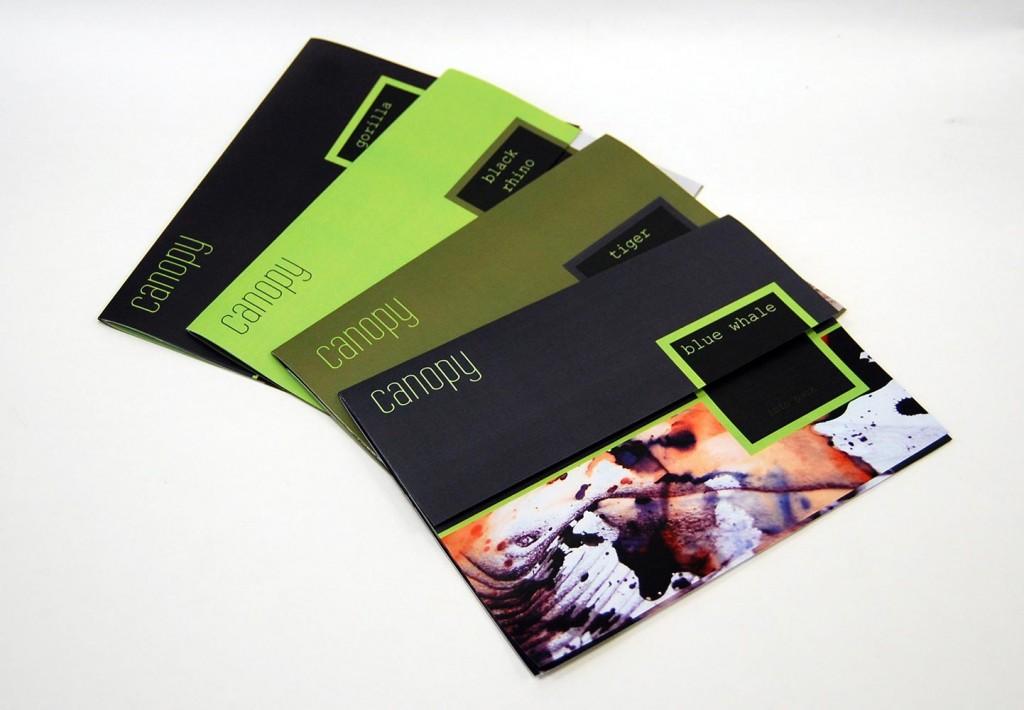 leaflets-fanned